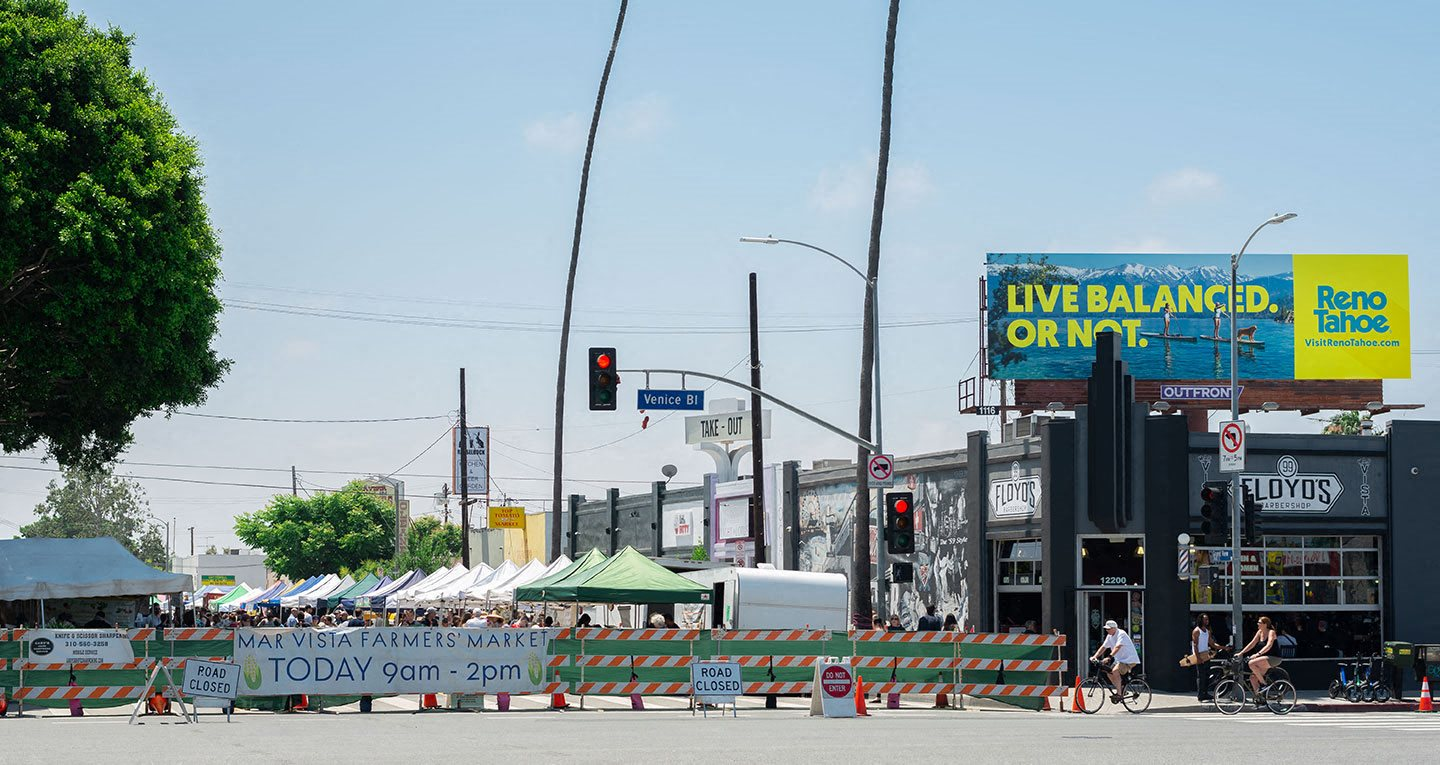 Mar Vista Farmers Market is located on Venice blvd and Grandview every Sunday