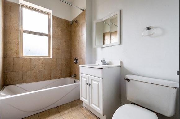 Bathroom of  7151 S Indiana Apartments in Glen Ellyn