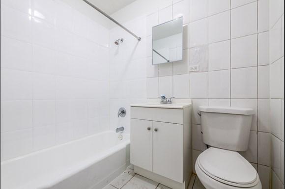 Bathroom 8334 S Ellis Apartments in Chicago