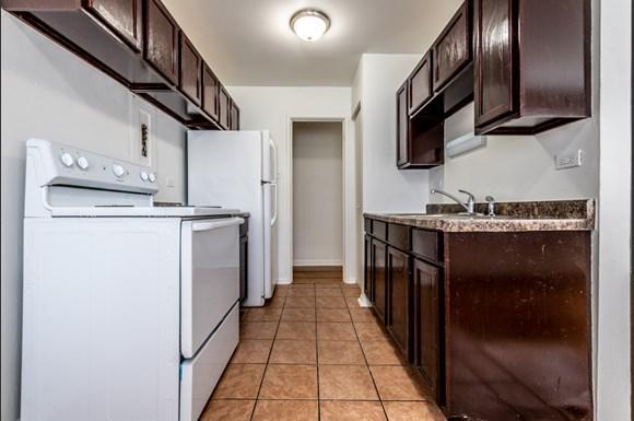 Kitchen 8334 S Ellis Apartments in Chicago