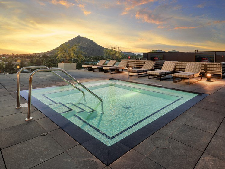 Views from Old Town Scottsdale luxury apartments