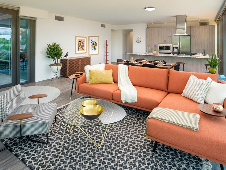 Luxury furnishings in our upscale apartments in Scottsdale