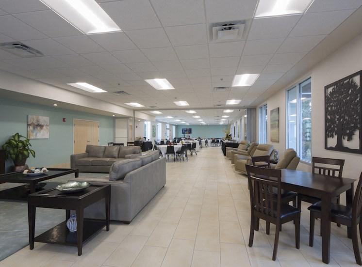 Mount Carmel Gardens senior apartments in jacksonville, florida community room 2