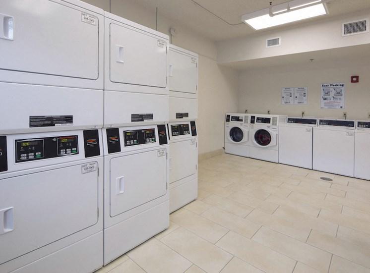 Mount Carmel Gardens senior apartments in jacksonville, florida laundry center