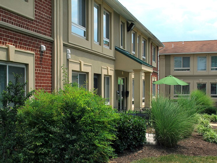 exterior angle view of apartment building during daytime