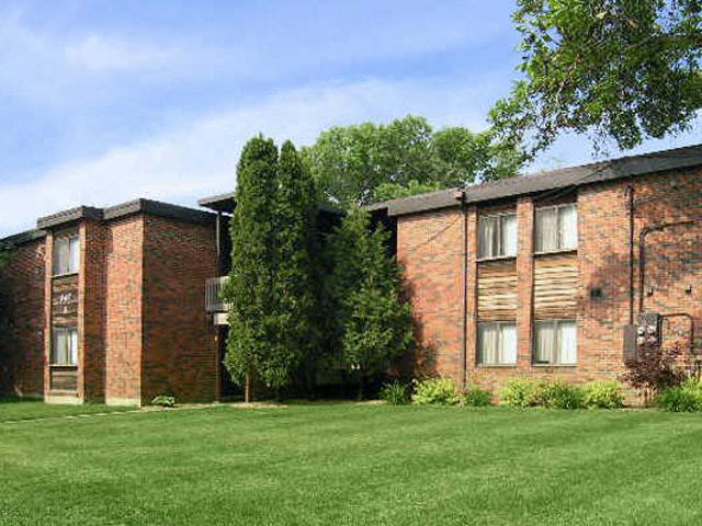 Lush Landscaping at Emerald Court, Iowa, 52246