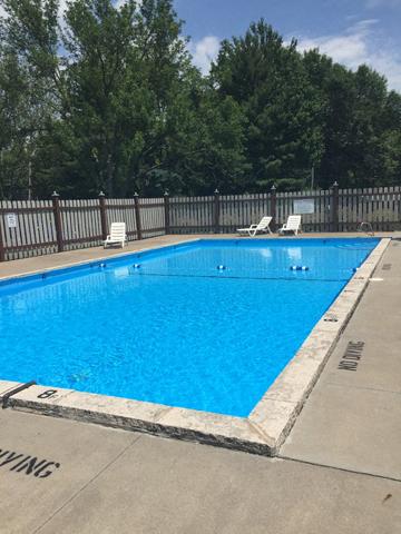Blue Cool Swimming Pool at Emerald Court, Iowa City, IA, 52246