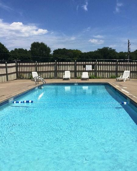 Blue Cool Swimming Pool at Westgate Villa, Iowa, 52246