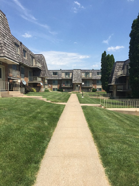 Greenspace Walking Trails at Westgate Villa, Iowa City, 52246