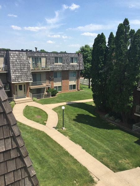 Aerial Exterior View at Westgate Villa, Iowa City, Iowa