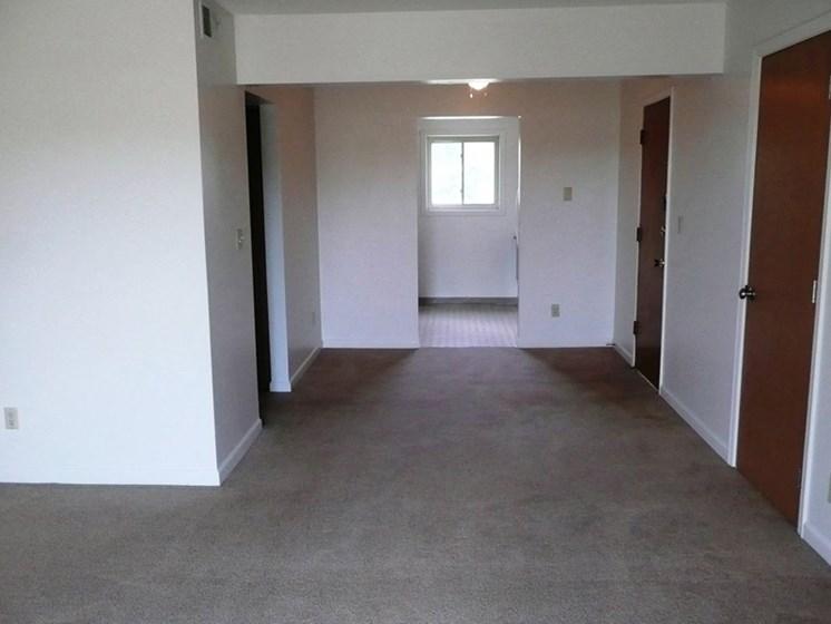 Spacious Living Room at Westgate Villa, Iowa City, 52246