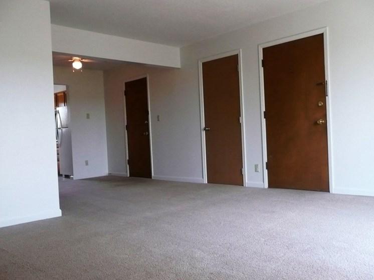Carpeted Area at Westgate Villa, Iowa City, Iowa