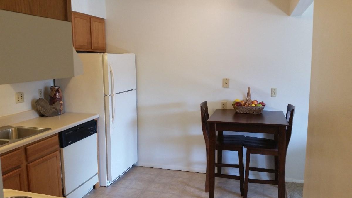 Seville Kitchen 3 at Seville Apartments in Iowa City, IA