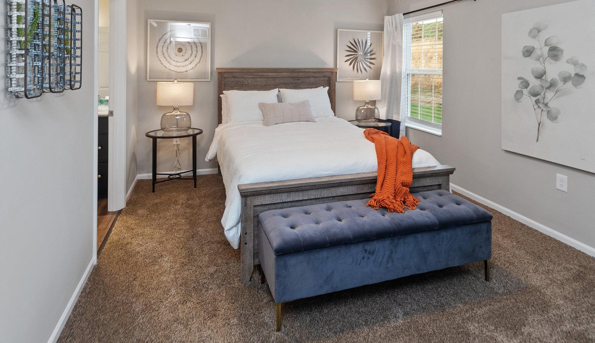 Brownstown MI apartment rentals Redwood Brownstown Telegraph Road bedroom