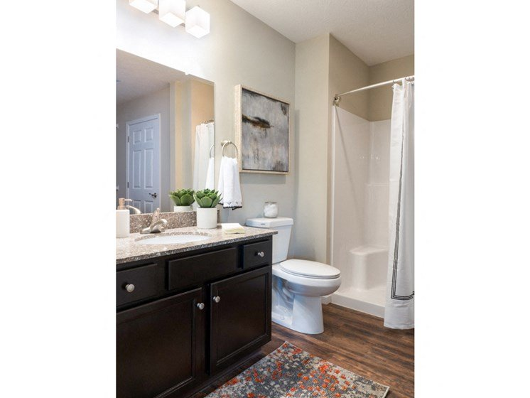 Reynoldsburg OH Apartment Rentals Redwood Blacklick Point Master Bathroom