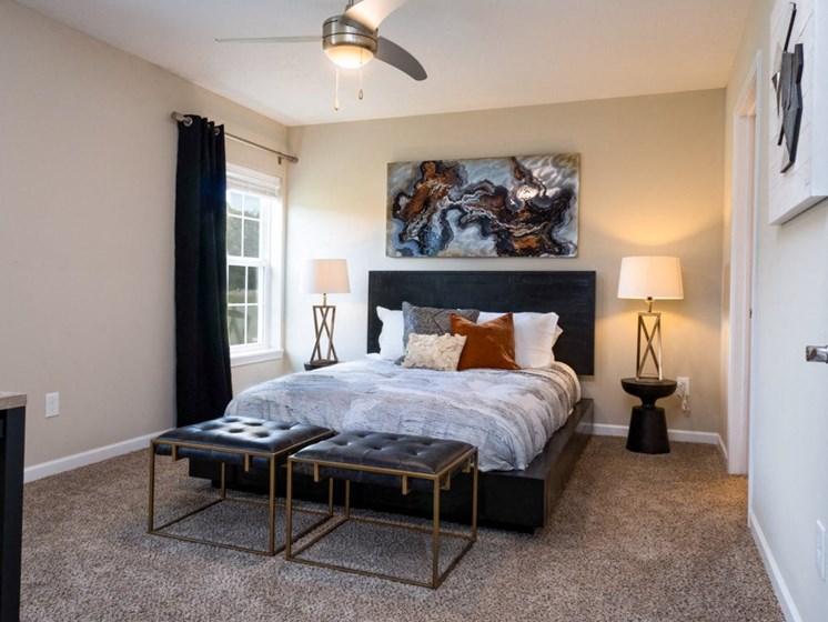 Washington OH Apartment Rentals Redwood Hawthorne Gate Master Bedroom