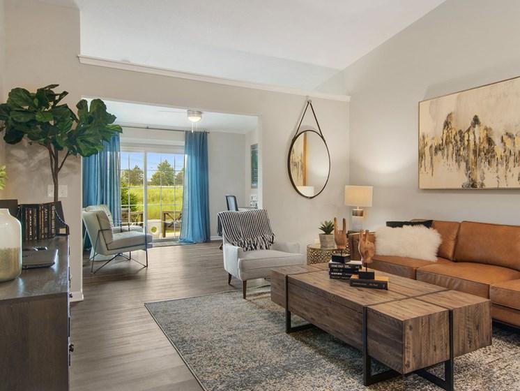 Fort Wayne Indiana apartment rentals Redwood Fort Wayne Diebold Road Living to Den