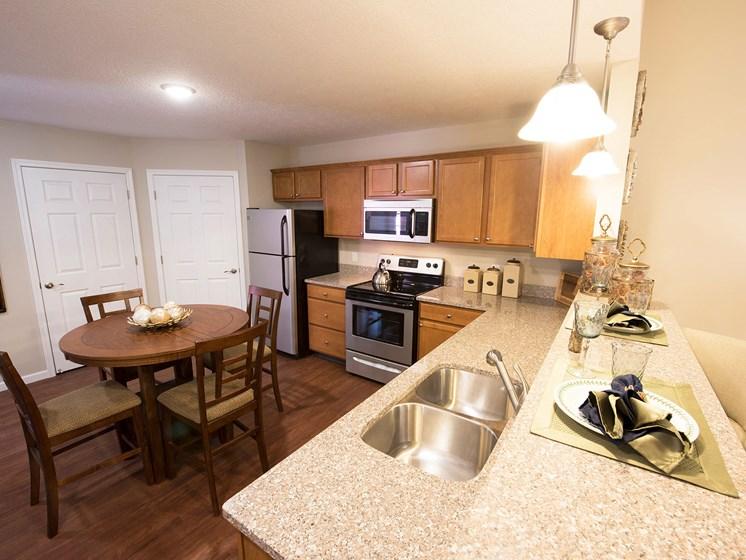 Wesfield Indiana Apartment Rentals Redwood Westfield Myra Way Kitchen Top View Redwood Apartment Neighborhoods
