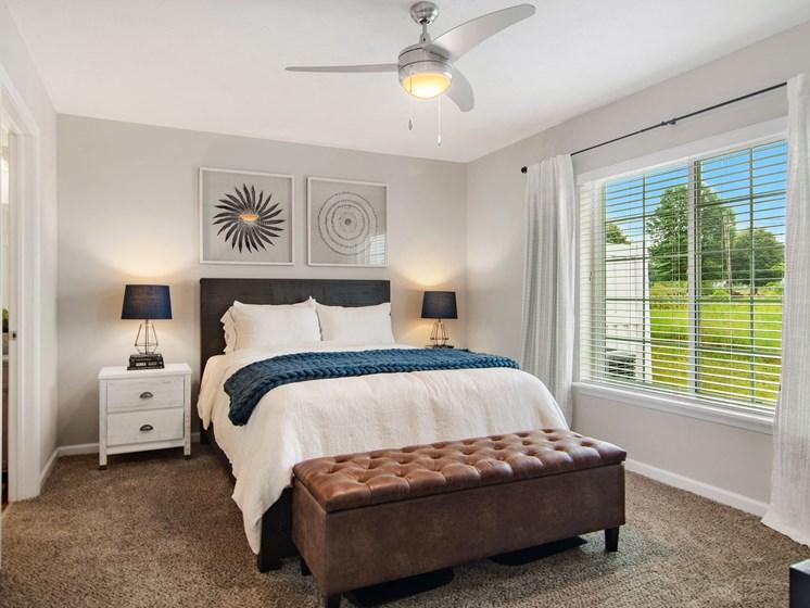 Plainfield IN Apartment Rentals Redwood Chatham Glen Main Bedroom