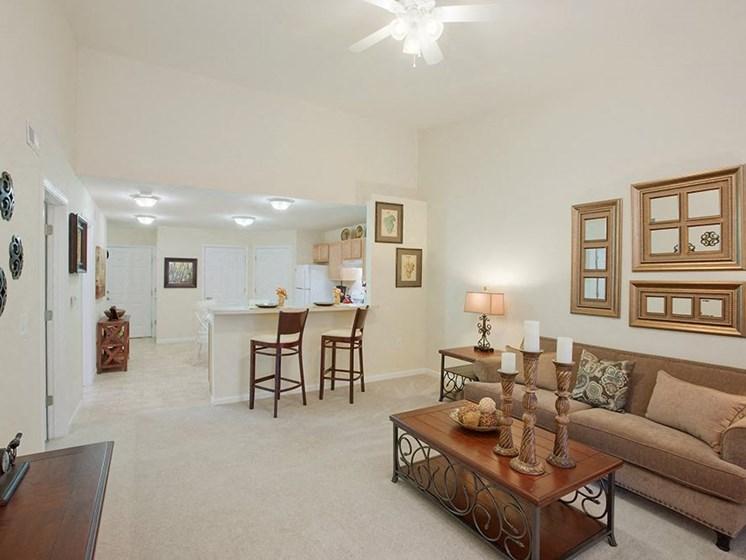 Danville IN Apartment Rentals Redwood White Lick Creek Living Room
