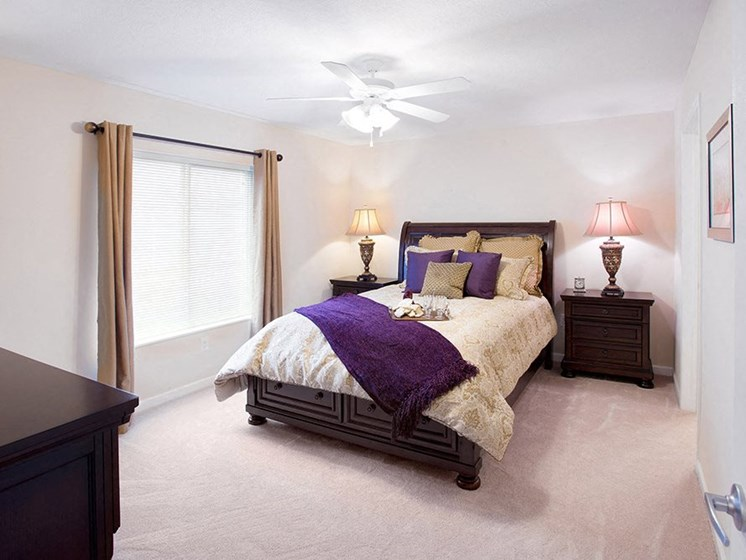 Danville IN Apartment Rentals Redwood White Lick Creek Master Bedroom