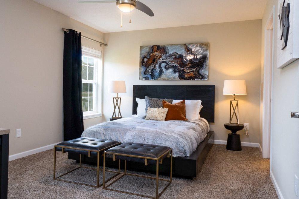 Ankeny IA Apartment Rentals Redwood Havenwood Master Bedroom