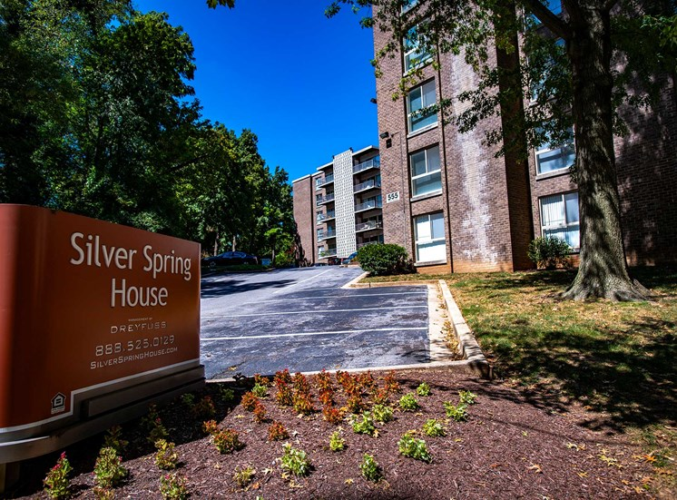 Silver Spring House Signage
