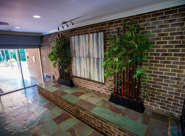 Silver Spring House Apartments Lobby Mural