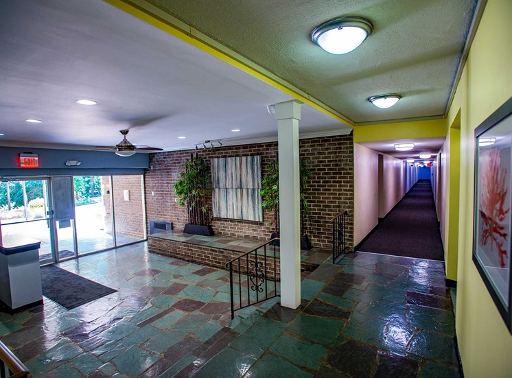 Silver Spring House Apartments Lobby Space