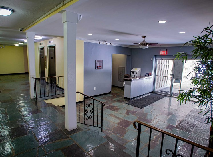 Silver Spring House Apartments Lobby Office Entry