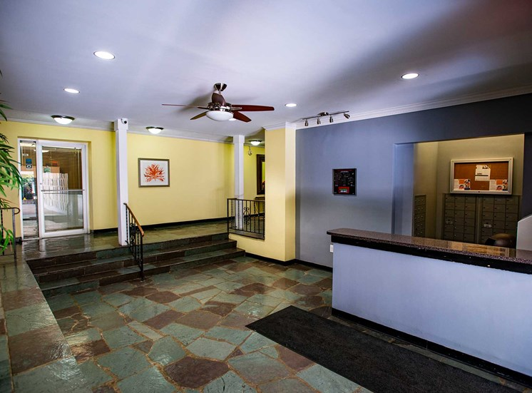 Silver Spring House Apartments Lobby Front Desk