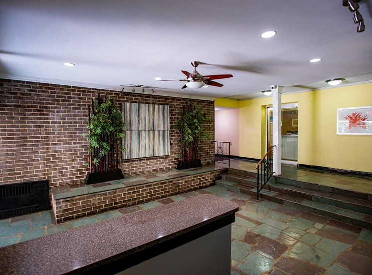 Silver Spring House Apartments Lobby Counter