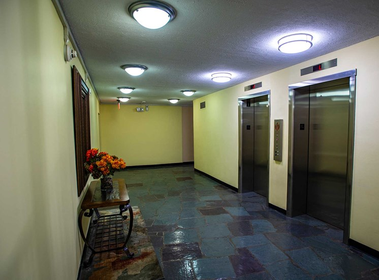 Silver Spring House Apartments Elevator Bays