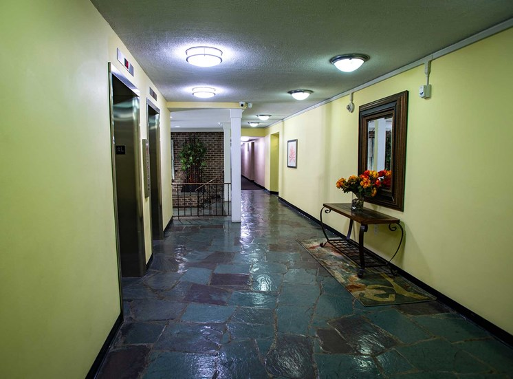 Silver Spring House Apartments Elevator Hall