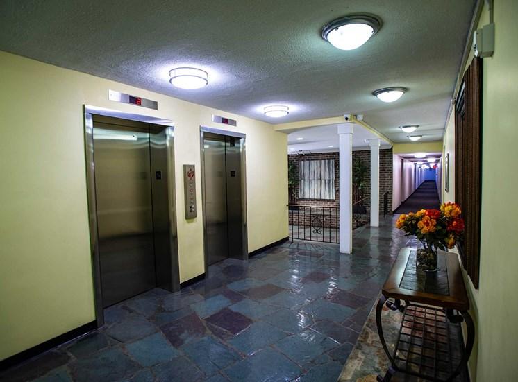 Silver Spring House Elevator Bay