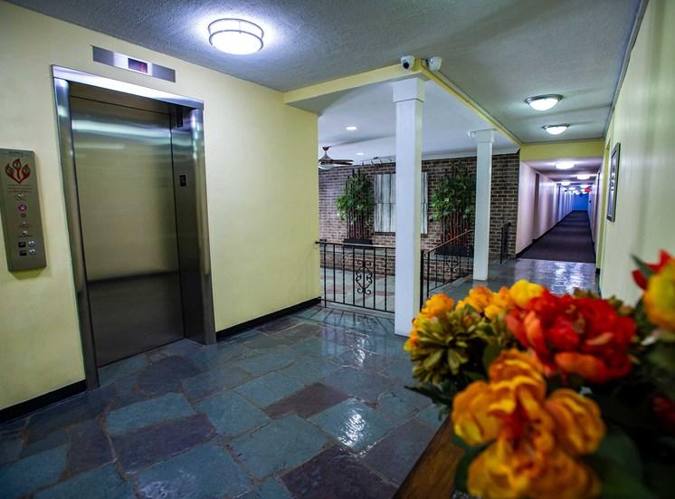 Silver Spring House Lobby Elevator Bay
