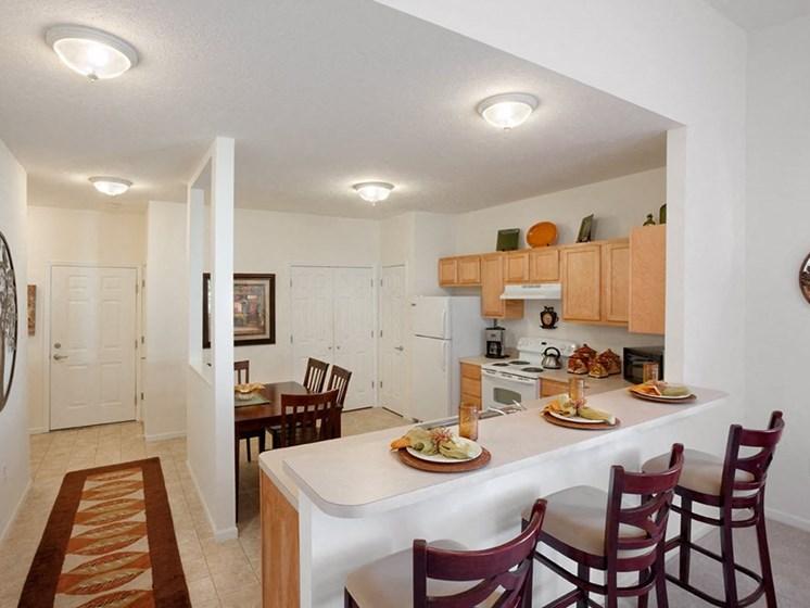 Vermillion OH Apartment Rentals Redwood Baywoods Kitchen
