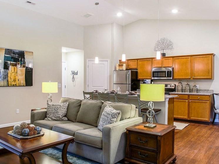 Greer SC Apartment Rentals Redwood The Ledges At Abner Creek Kitchen