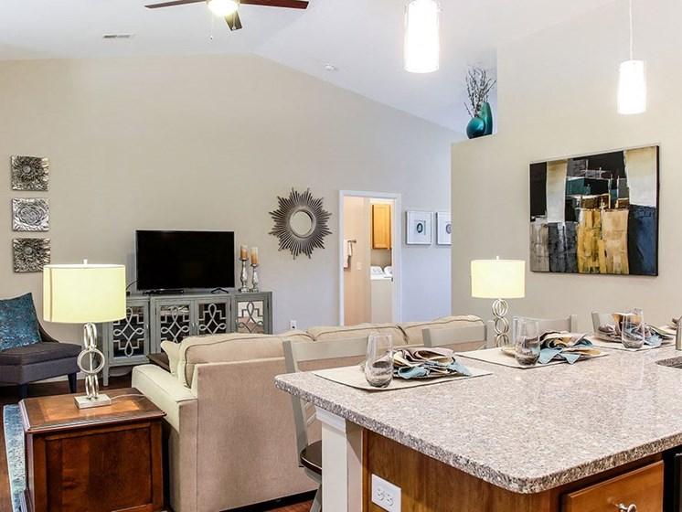 Greer SC Apartment Rentals Redwood The Ledges At Abner Creek Living Room