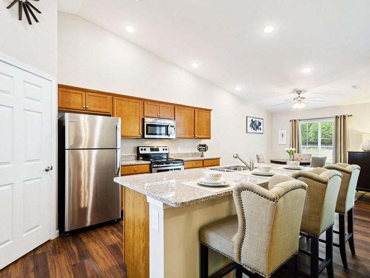 Greer SC Apartment Rentals Redwood Greer Ashburton Drive Kitchen To Dining Redwood Apartment Neighborhoods