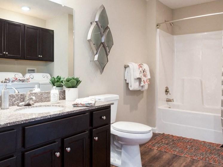 Concord NC Apartment Rentals Redwood Master Bathroom