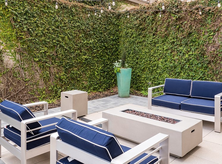 1643 Josephine Apartment Homes fire pit lounge