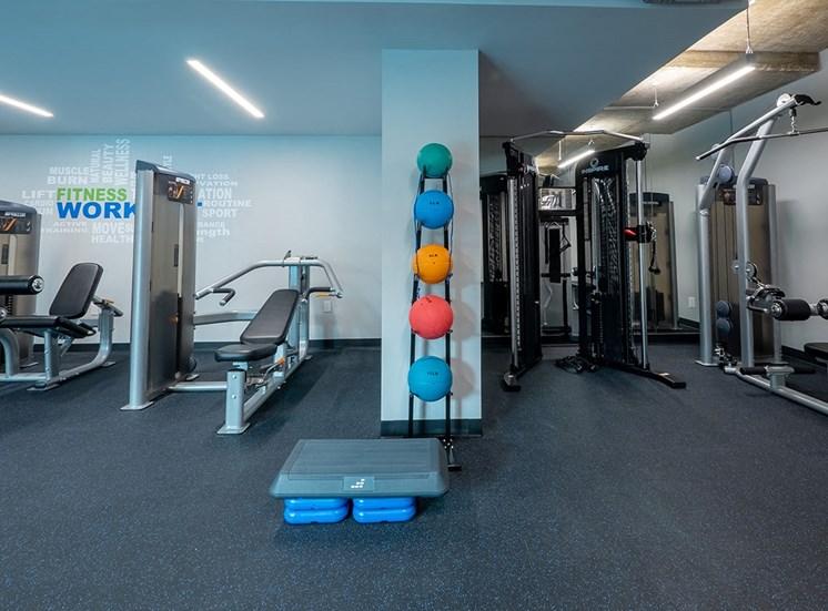 1643 Josephine Apartment Homes fitness center