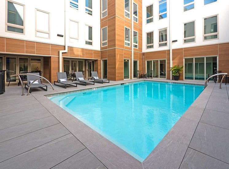 1643 Josephine Apartment Homes heated saltwater pool