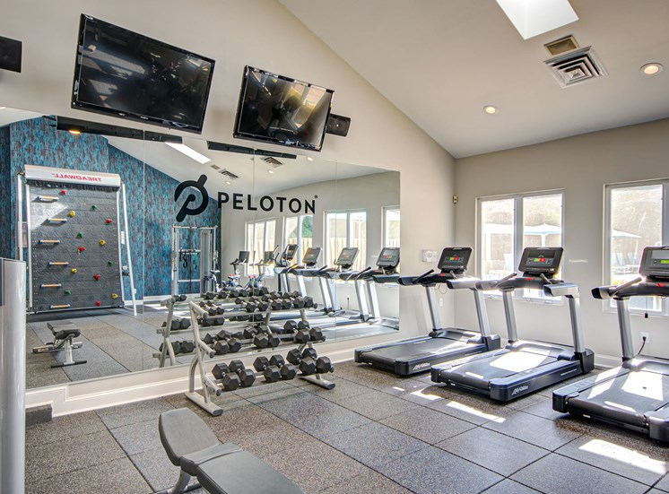 Woodside fitness center.