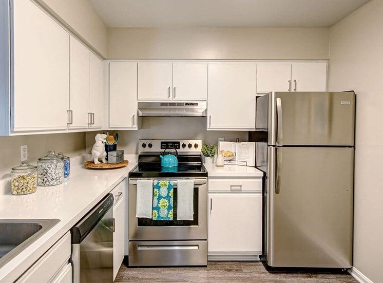 Woodside kitchen.