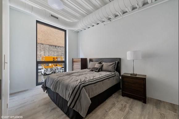 Bedroom The Arcade Residences Rogers Park