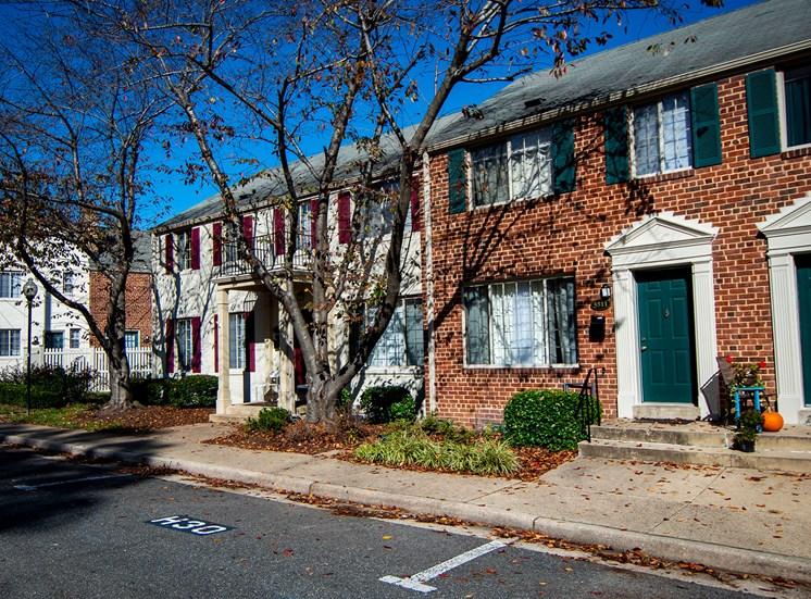 Brookville Townhomes Off Street Parking