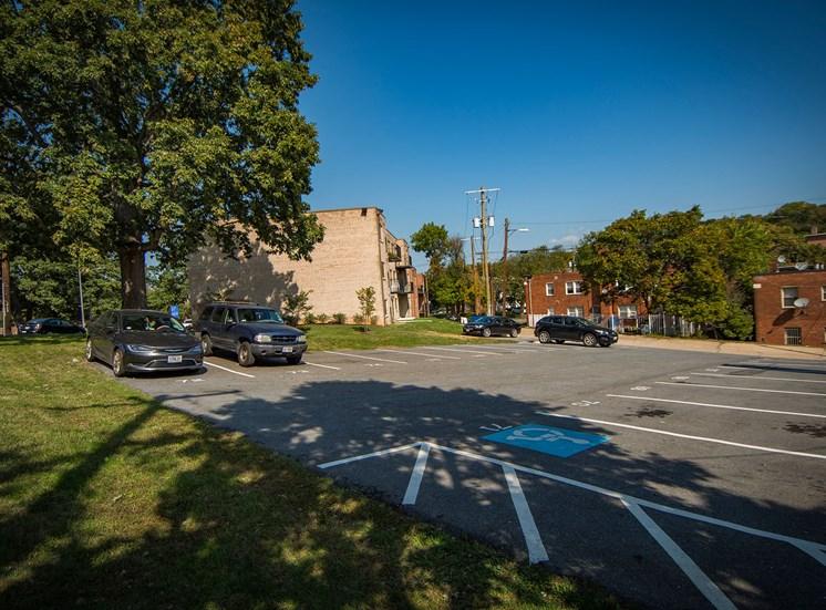 Clermont Apartments Parking Lot
