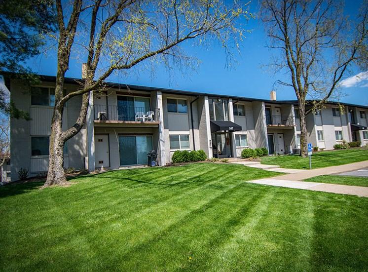 Crane Village Apartments Manicured Lawns